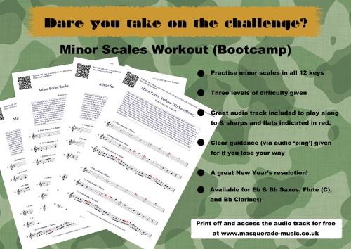 Minor Scales Bootcamp promo pic