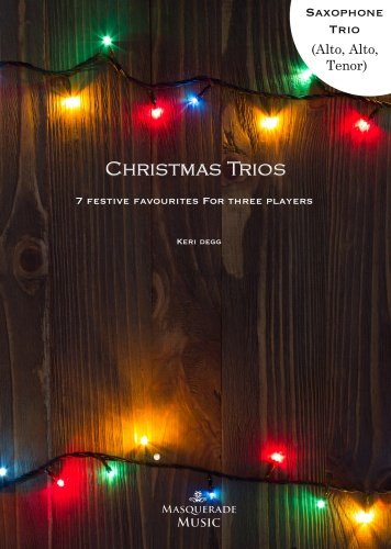 Christmas Trios cover sax front