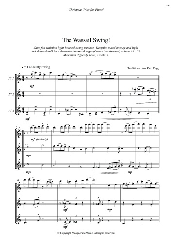 The Wassail flute sample