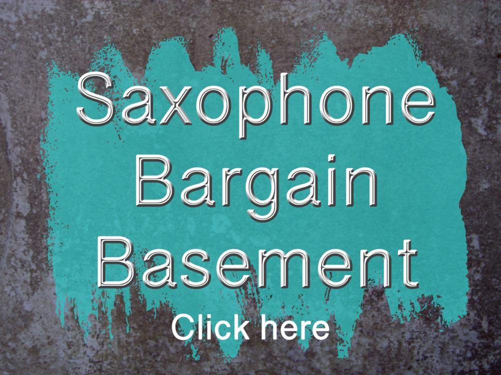 Saxophone Sheet Music - Bargain Basement