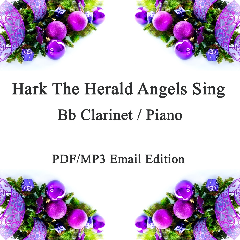 Hark The Herald Angels Sing (Swing!) Jazz inspired arrangement Bb Clarinet
