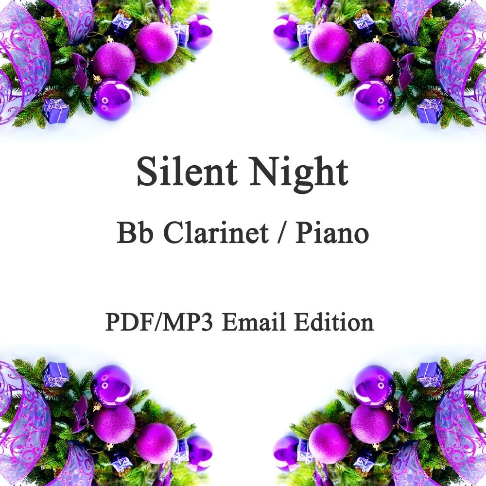 Silent Night; A Christmas Jazz inspired smoochy ballad for Bb Clarinet & Pi