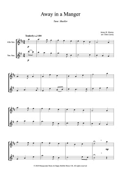 Away in a manger (Alto-Tenor) - sample