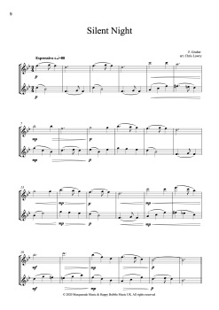 Cf2 flute silent night sample page
