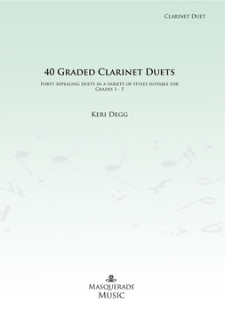40 graded clarinet duets cover