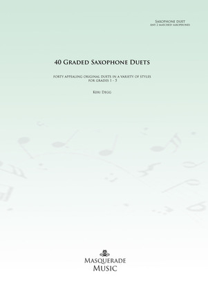 40 Graded saxophone