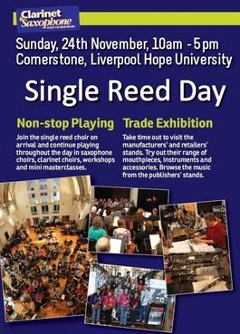 CASS Single Reed day