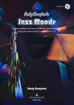 Jazz Moods (Eb/Bb Sax & Piano collection, incl CD).