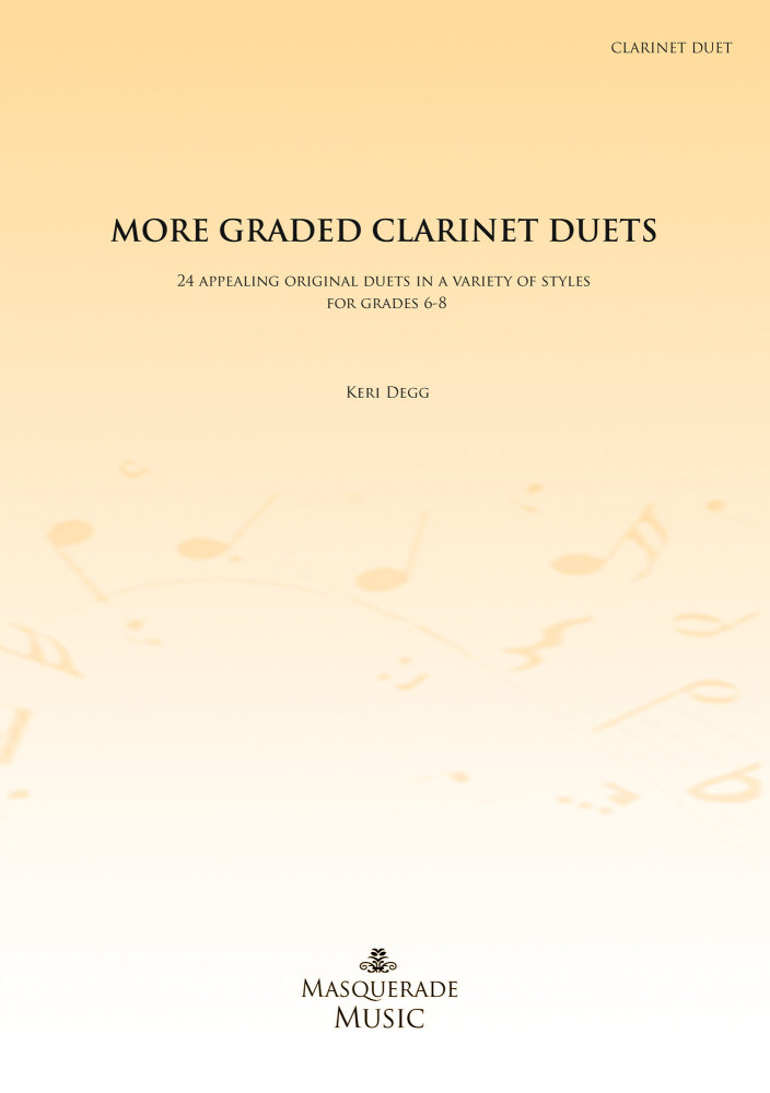 More Graded Clarinet Duets (Grades 6-8)