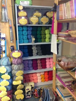 Wool display