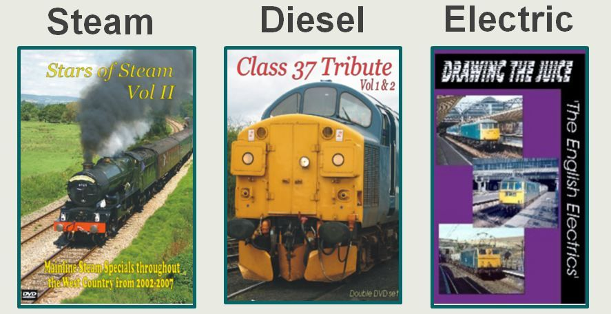 Locomotive DVDs