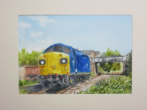 Class 37 – 37 097 - Diesel Locomotive