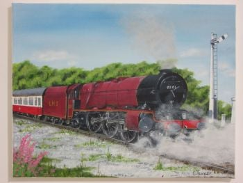 LMS 6201 Princess Elizabeth - Steam Locomotive