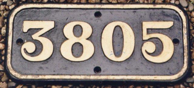 3805 cabside