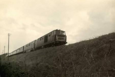 D853 Thruster Goodrington bank prob 1963-64