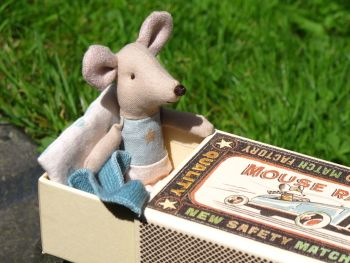 Maileg Little Boy Mouse in Box 2017