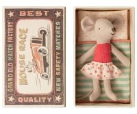 *BEST SELLER* Little Sister Polka Dots Mouse in a Box