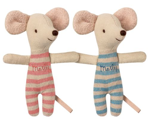 Maileg Twin Mice in Matchbox 2019