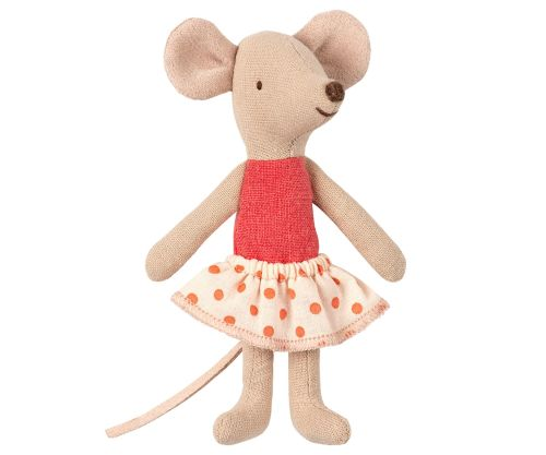 Maileg Little Sister Mouse in Box SS2019