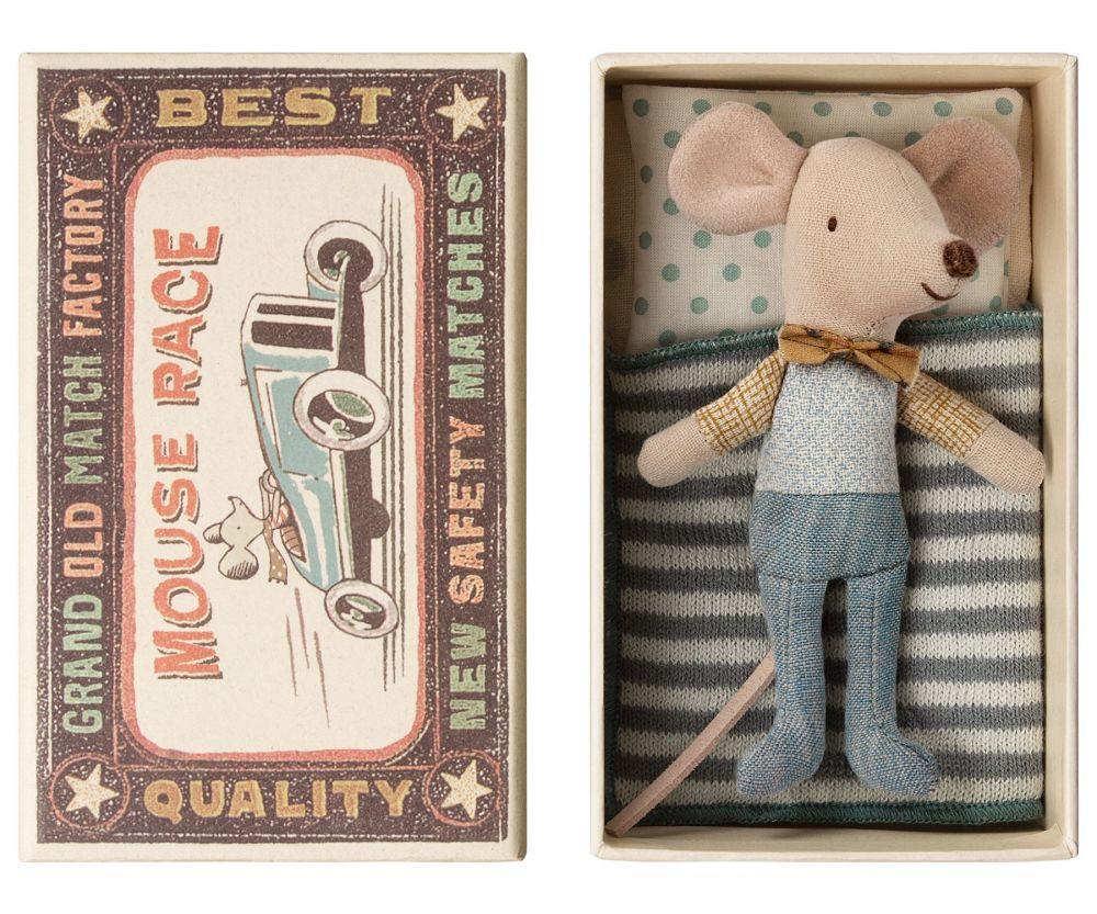 *NEW* Little Brother Bow Tie Mouse in a Box