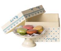 Maileg Macarons on Cakestand