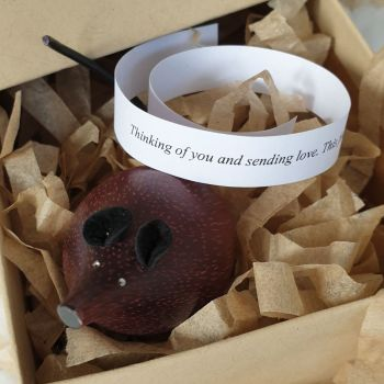 SPECIAL: Wooden Mouse in a Box - Treacle