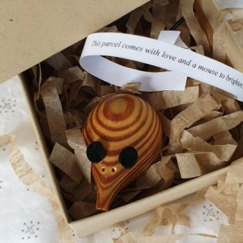 SPECIAL: Wooden Mouse in a Box - Country