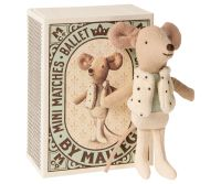 Little Brother Mouse Dancer in a Matchbox