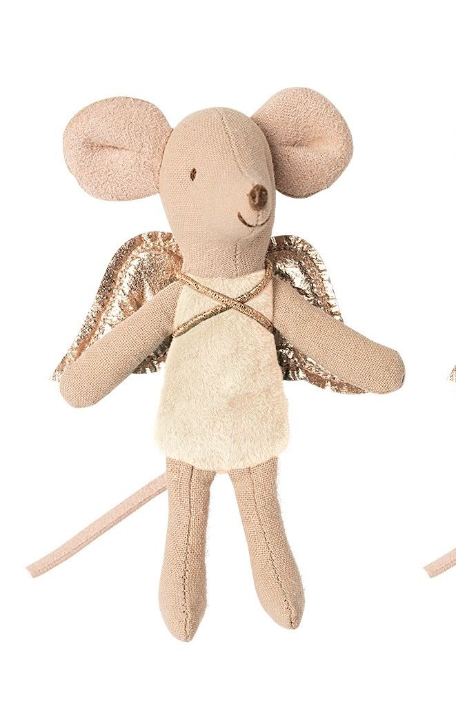 Fairy Mouse, Little Sister (Light Pink) *Available for dispatch from 9th Oc