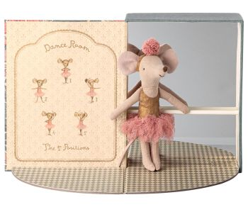 Dance Room with Big Sister Ballet Mouse