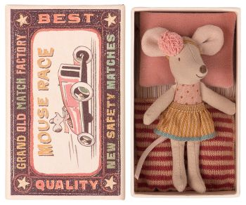 *BRAND NEW* Little Sister Party Mouse in a Box