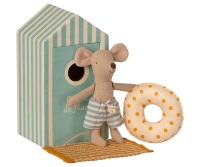 *BRAND NEW* Little Brother Mouse in a Beach Hut