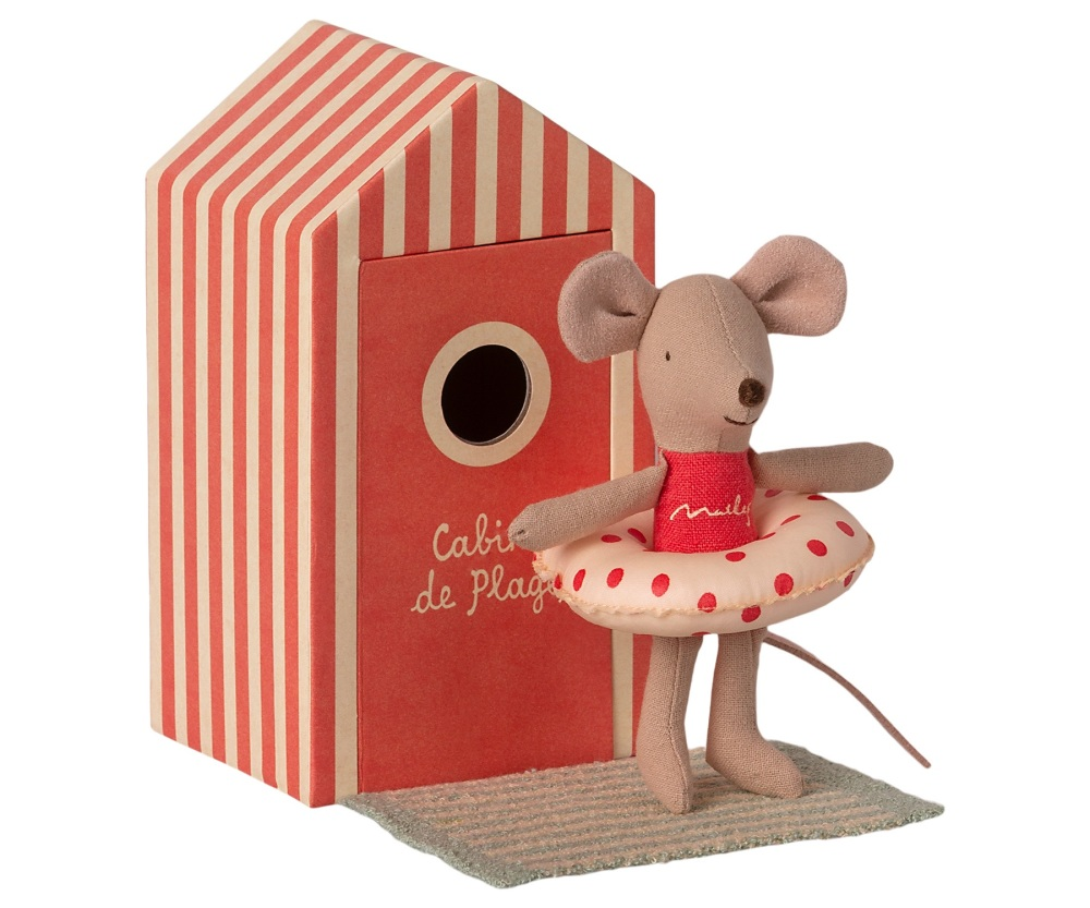 *NEW* Little Sister Mouse in a Beach Hut