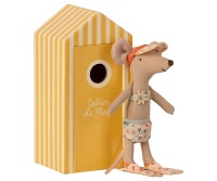*BRAND NEW* Big Sister Mouse in a Beach Hut