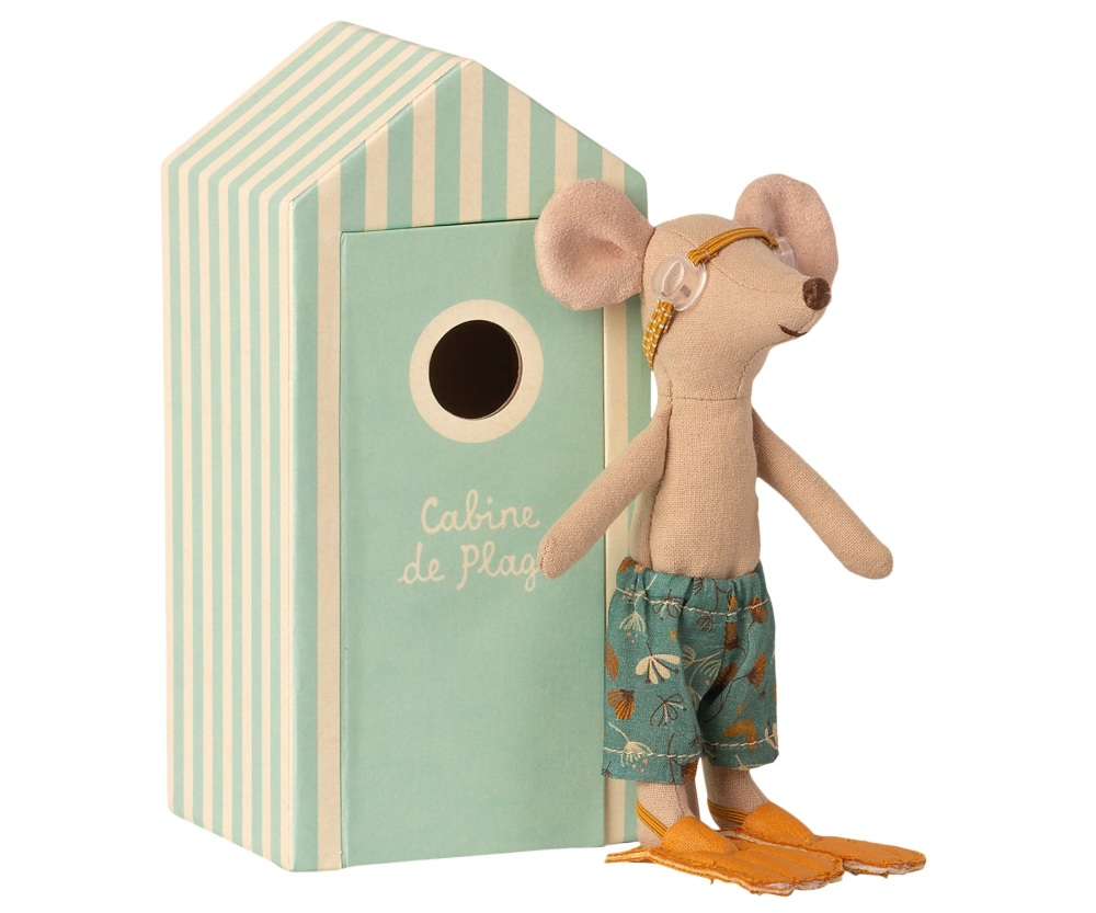 *NEW* Big Brother Mouse in a Beach Hut