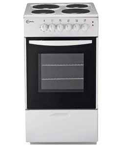 Beko  Flaval Electric Cooker Single Oven 50cm
