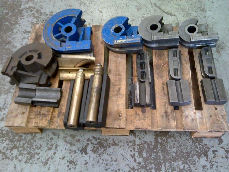 ERCOLINA  Mandrel tube bender tooling