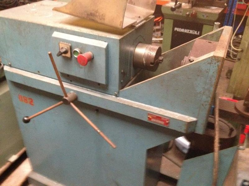 USED tube and bar chamfering machine 1