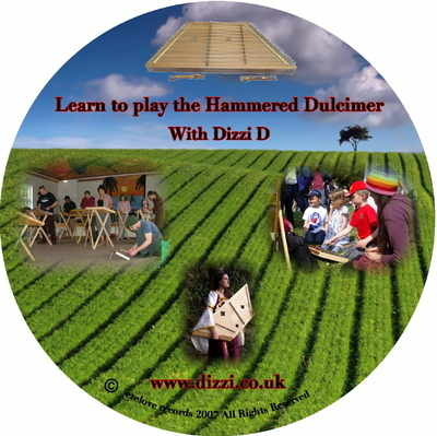 Learn to play the Dulcimer Volume 1 by Dizzi Dulcimer