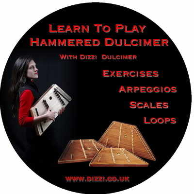Learn to play DVD 3 (Exercises) by Dizzi Dulcimer