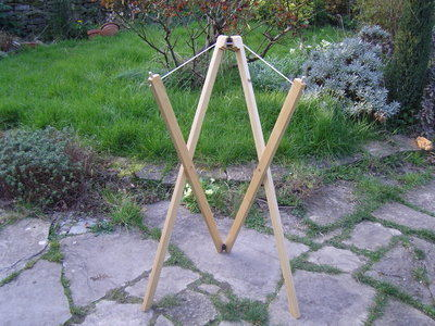 Scissor Stand (Sitting and Standing Stands)