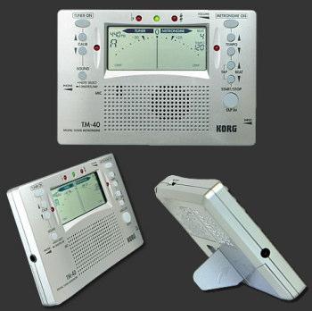 Korg Chromatic tuner and metronome TM40