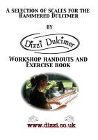 "Discover the Dulcimer the Dizzi way ""A Selection of Scales  Exercise Book"
