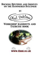 Discover the dulcimer the Dizzi Way An Array of Rhythm and groove  Exercise book