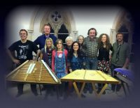 Hammered Dulcimer holiday 5 hours of tuition Groups up to 6 people (1 night stay)
