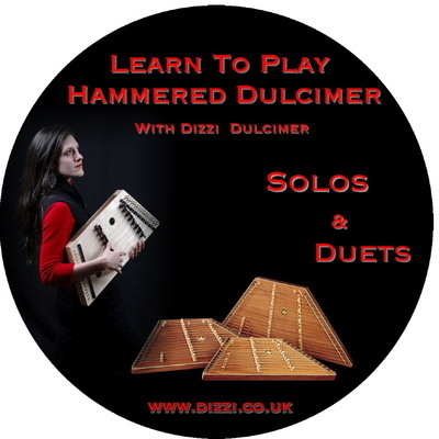Learn to play DVD 3 (Both Discs) by Dizzi Dulcimer