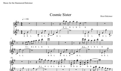 Cosmic Sister Sheet Music - DUET