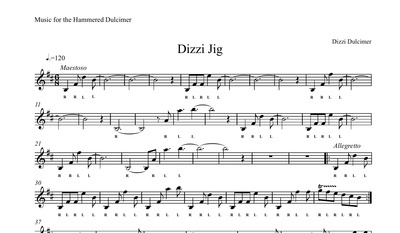 Dizzi Jig Sheet Music