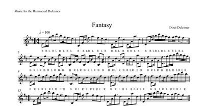 Fantasy Sheet Music