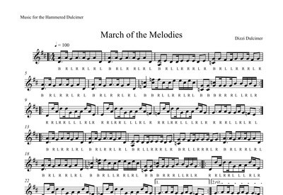 March of the Melodies Sheet Music